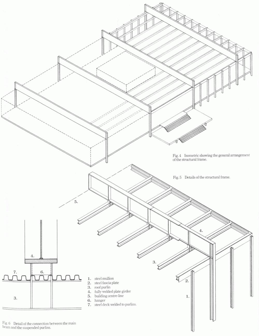 estructura crown hall