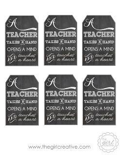 A teacher takes a hand teacher appreciation gift idea free a teacher takes a hand teacher appreciation gift idea free printable negle Images