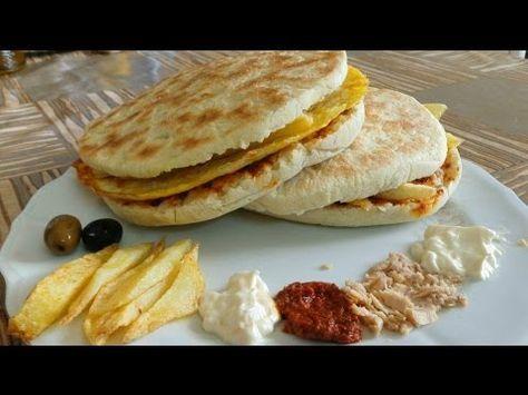 Chapati Tunisien وصفة شباتي تونسي Youtube Tunisian Food Food Chapati