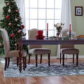 Three Posts Chilton Extendable Dining Table In Kitchen
