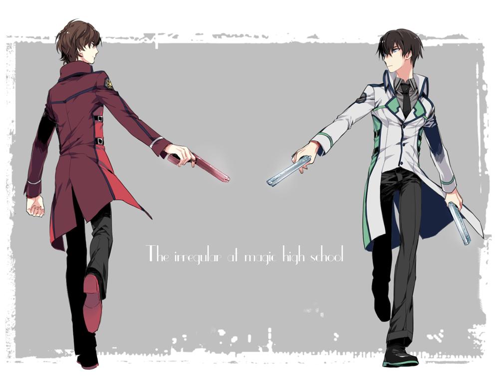 The Irregular At Magic High School - Tatsuya And Misaki -5113