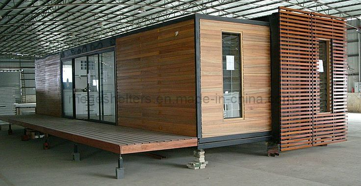 how to timber clad a shipping container