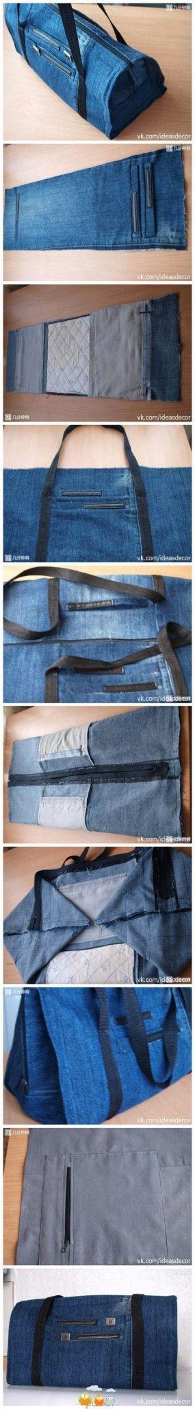 tasche jeans upcycling taschen pinterest n hen taschen n hen und jeans tasche. Black Bedroom Furniture Sets. Home Design Ideas