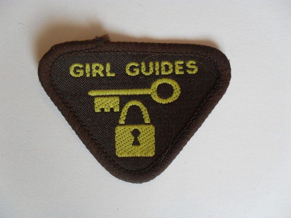 Vintage Brownie Interest Badge Crime Prevention