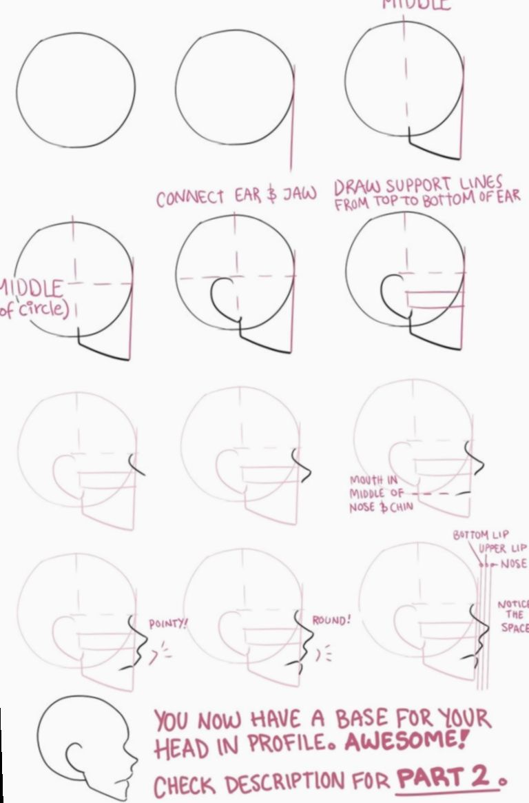 Anime Face Profile Drawing Tutorials Bakugoukatsukicosplay Bnhacosplay Bokunoheroacademiacosplay Drawing Tutorial Face Drawing Tutorial Sketches Tutorial