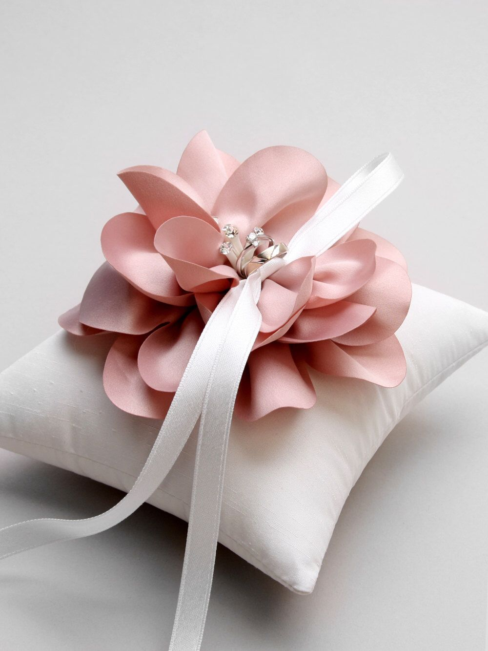 hei wid wedding pillows simply bearer pro hbh knitted ceremony pillow ring
