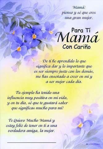 Feliz Dia De La Madre Felicidades En Su Dia Que Dios La