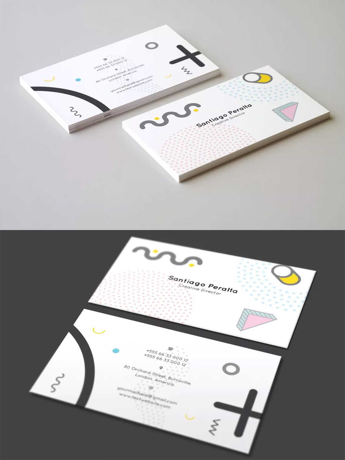 Business card template ai eps business card templates pinterest business card template ai eps cheaphphosting Choice Image