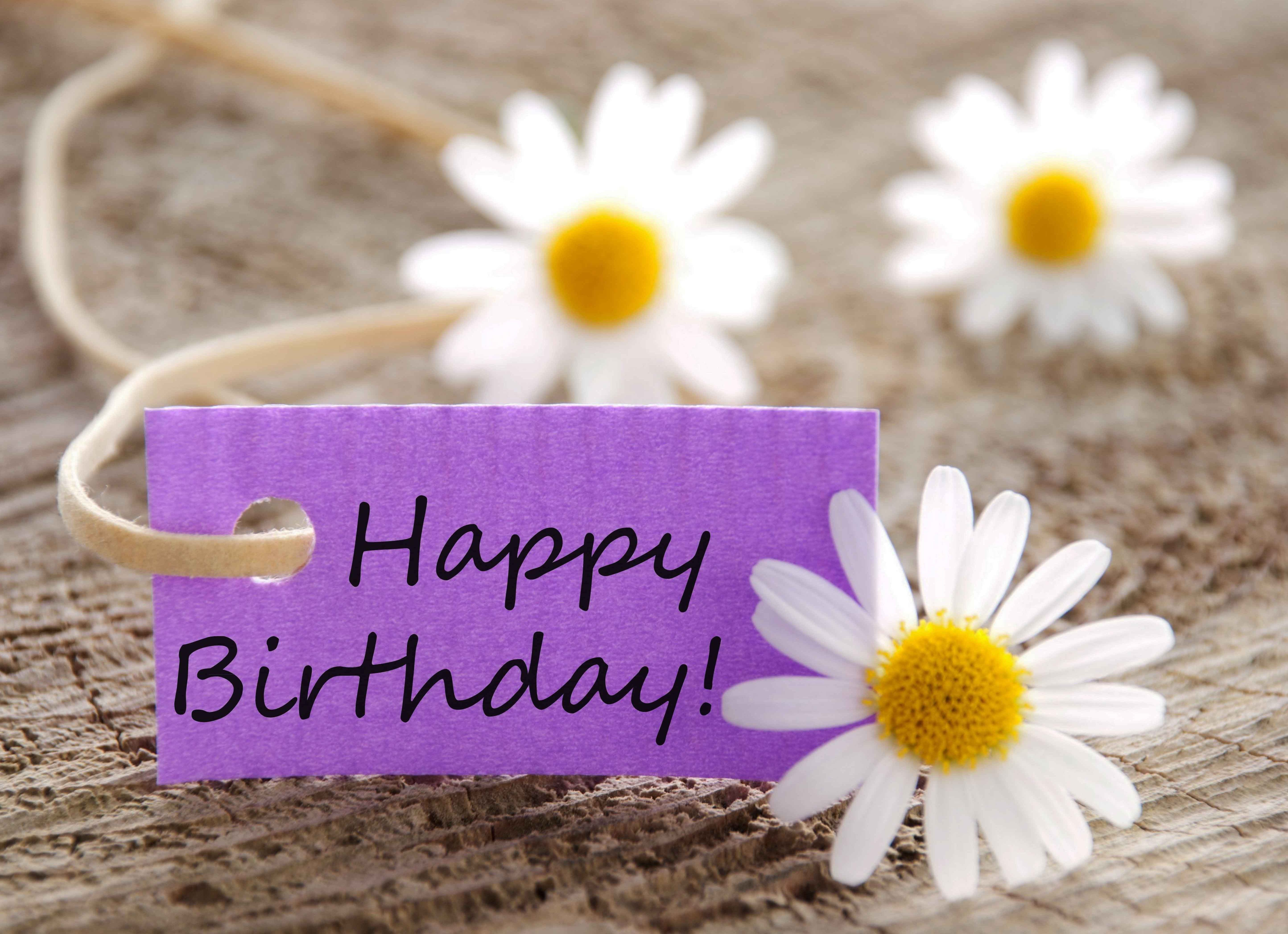 20 Beautiful Happy Birthday Flowers Images Happy Birthday