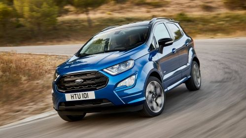 2018 Ford Ecosport Facelift Gains Awd St Line Version Ford