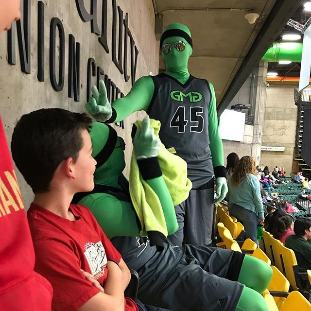 We love the @uvugreenmangroup! One home game left!