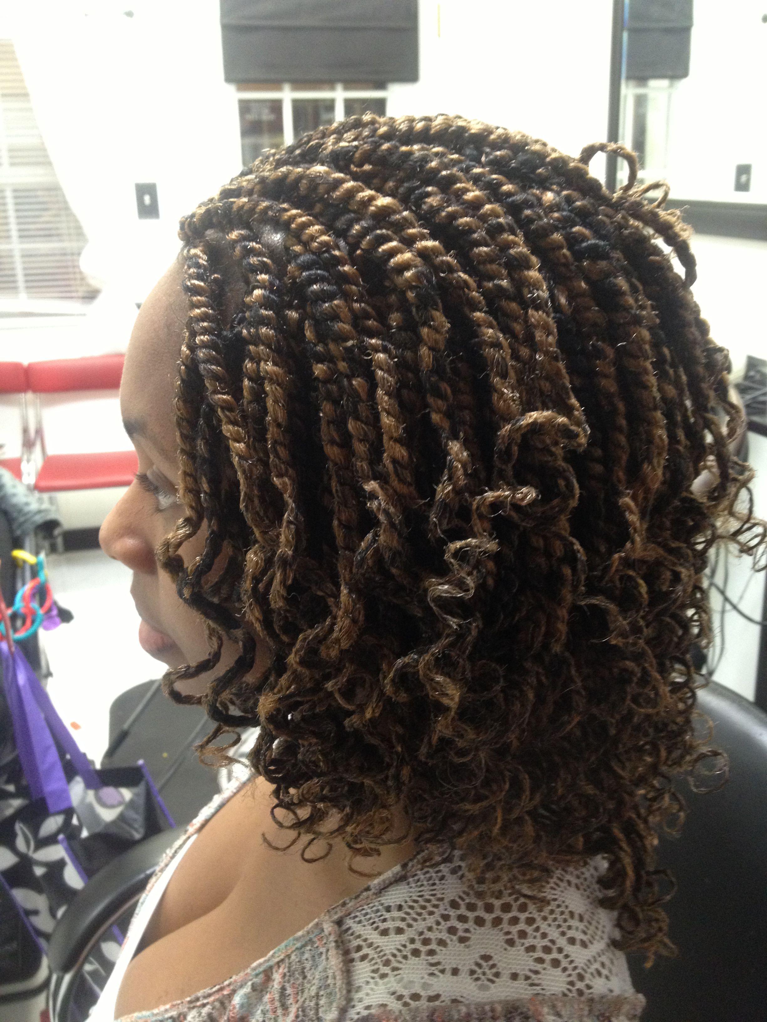 Afro twist bijou African hair braiding Orlando FL area