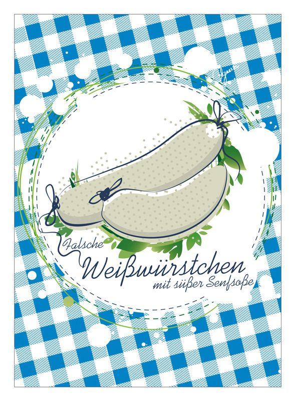 Falsche Weisswurst - Design: Agnes Ziehm, www.agnessiv.de
