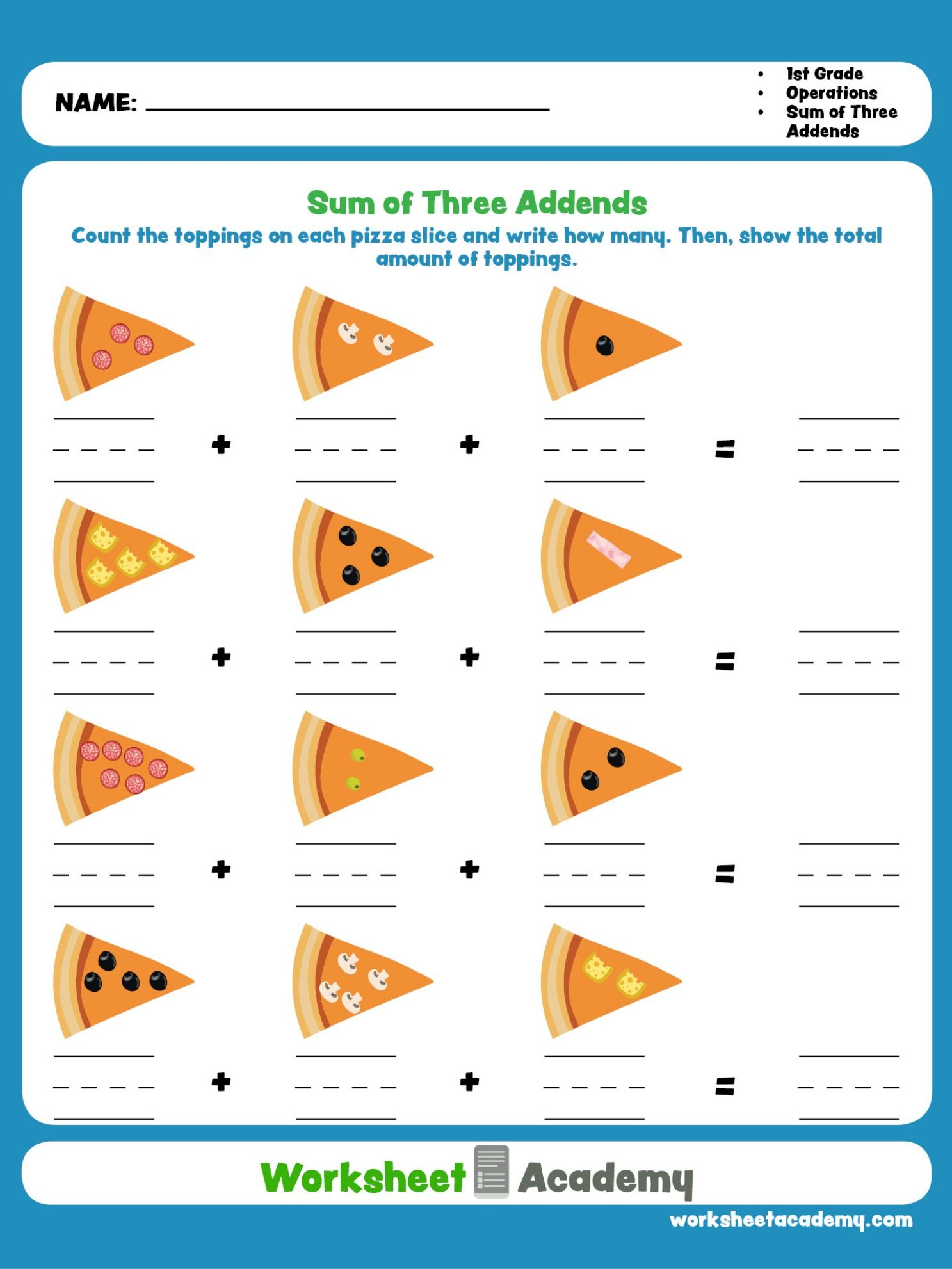 Sum Of Three Addends