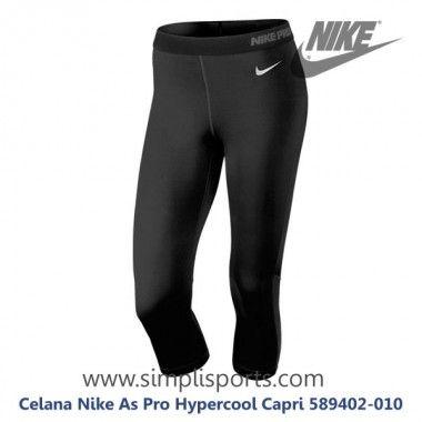 Celana Senam Wanita Nike As Pro Hypercool Capri 589402 010 Ori Celana Capri Legging