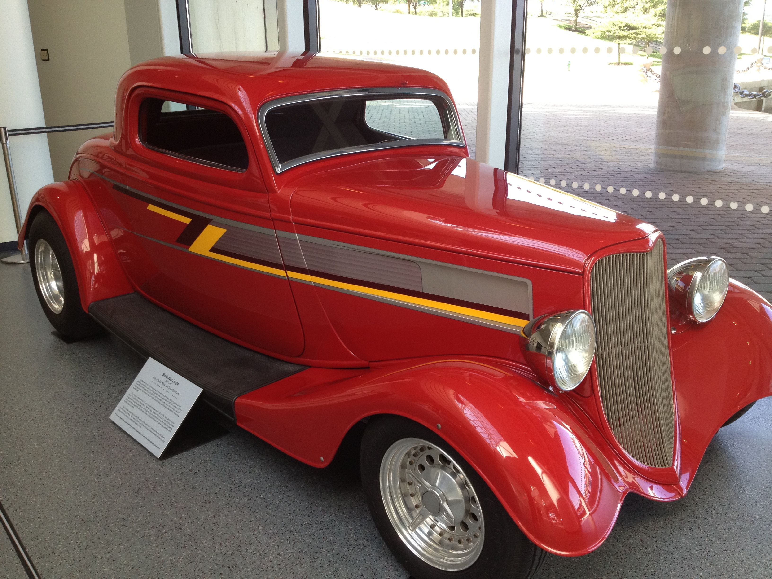 Zz Top S Famed Eliminator Car At Rock N Roll Hall Of Fame In