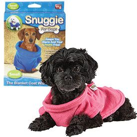 @sara long @samantha long Goob needs a snuggie! lol