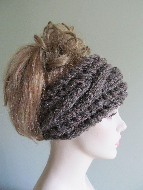 Alpaca Cabled Headbands | bolsas & accsesorios | Pinterest | Tejido