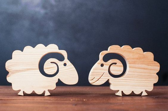 Resultado de imagem para toy art with discharted materials do it cute wooden sheep will adorn your living space find this pin and more on do it yourself solutioingenieria Images