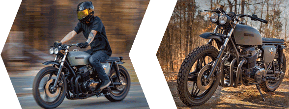 shop motorcycle parts for modern classic and vintage custom