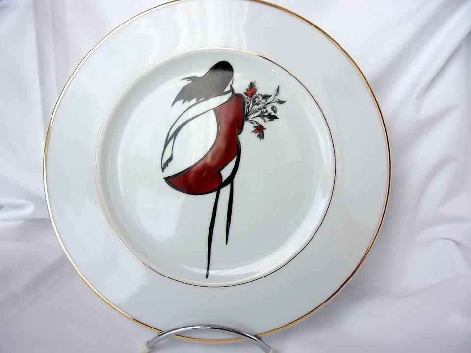 Épinglé par chantal lopez sur peinture sur porcelaine en ...