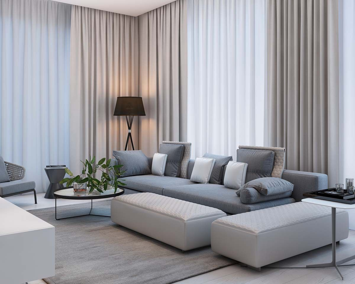 Simple Modern Apartment With Pastel Colors Looks So Cozy Stili