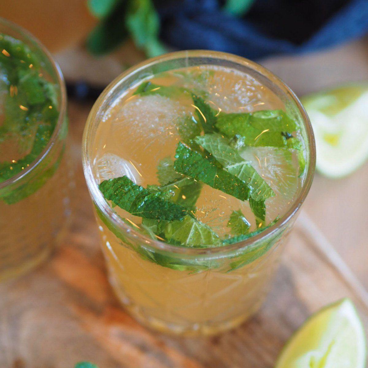 Ingefærøl mojito - Sesongens friskeste drink!