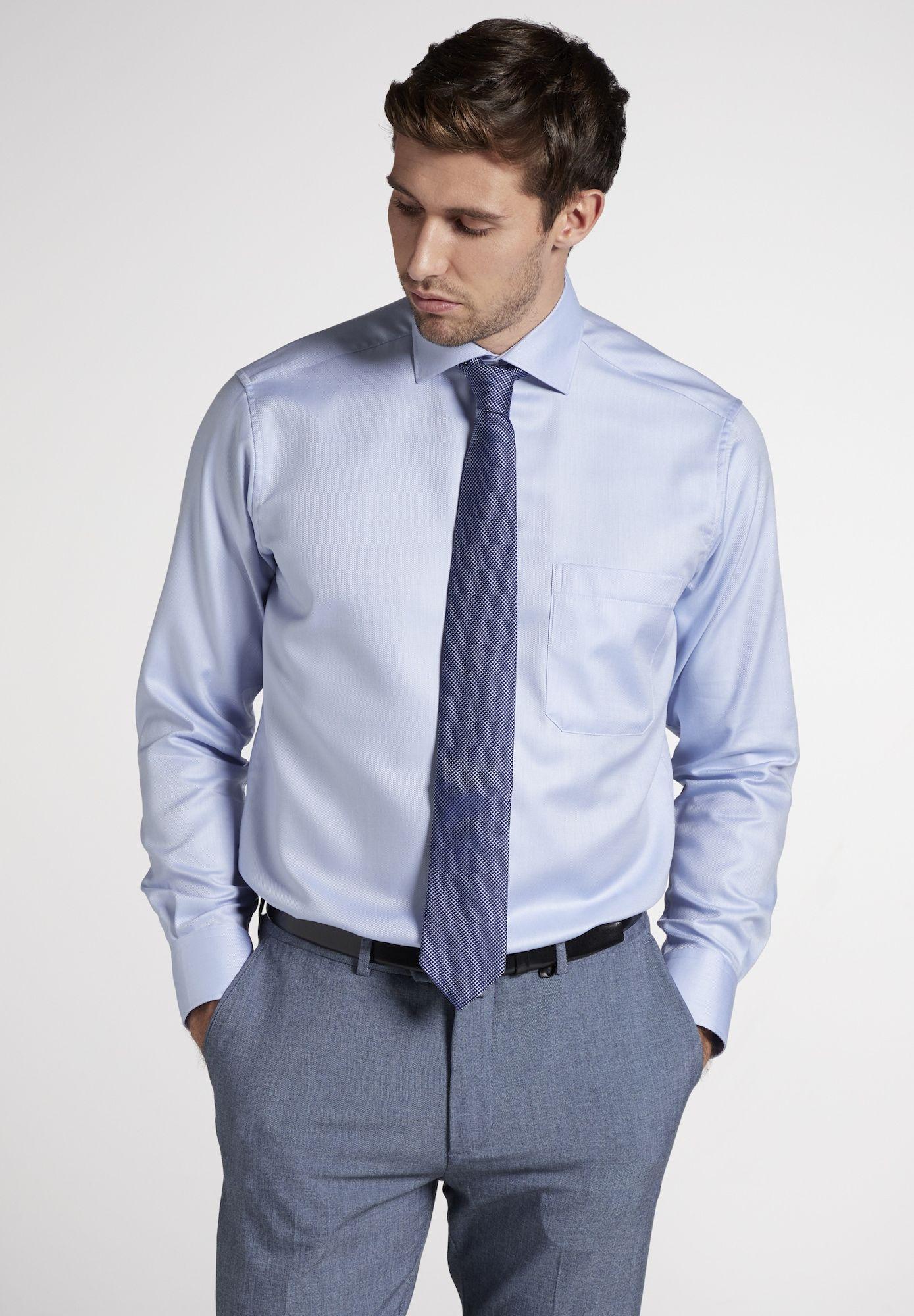 Eterna Hemd Herren Hellblau Grosse 40 Hemd Anzug Und Krawatte Hemd Mit Krawatte