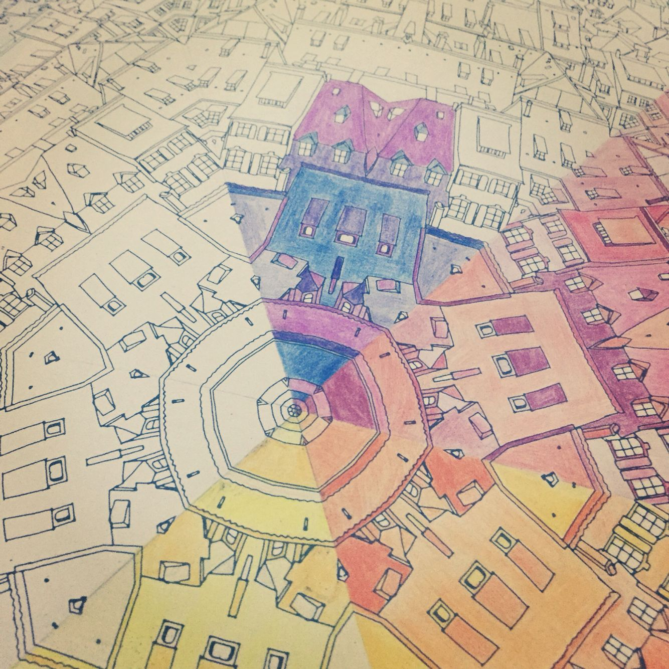 Colour Wheel Ma Dad Of Strasbourg Book Fantastic Cities By Steve McDonald
