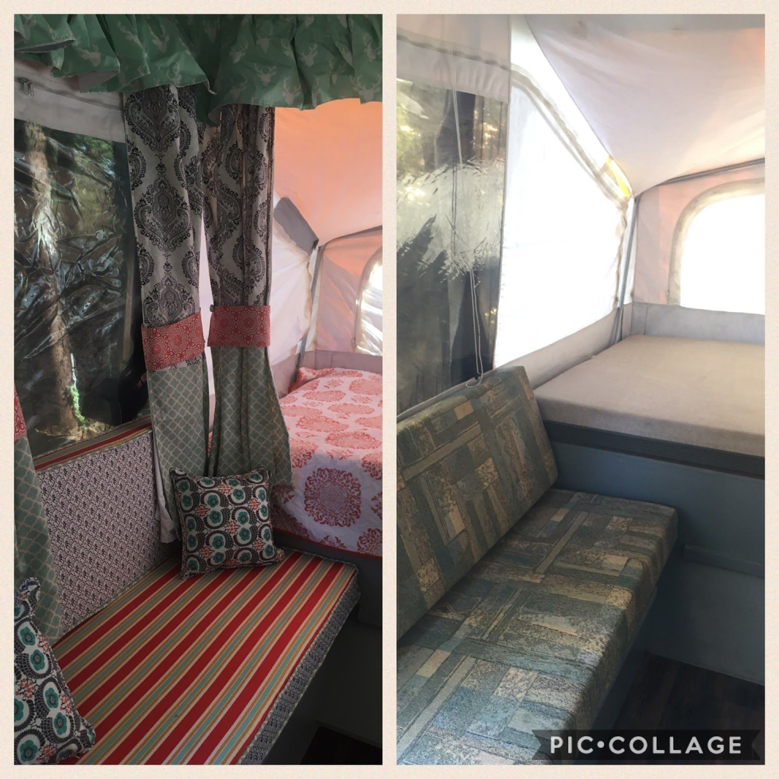 Why A Pop Up Camper Is The Right Rv For Our Family Pop Up Couch