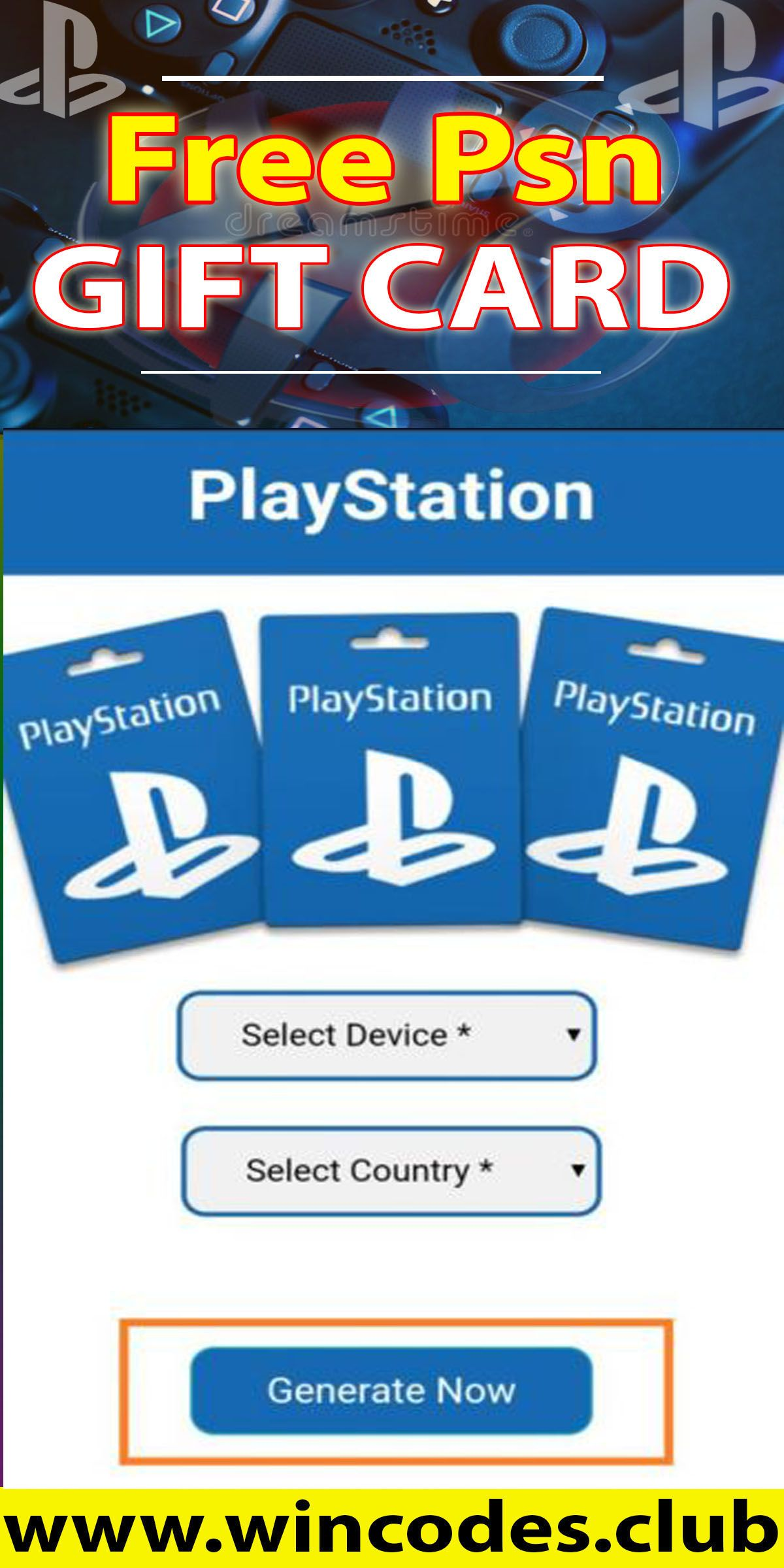 Free psn gift cards in 2020 free gift cards gift card