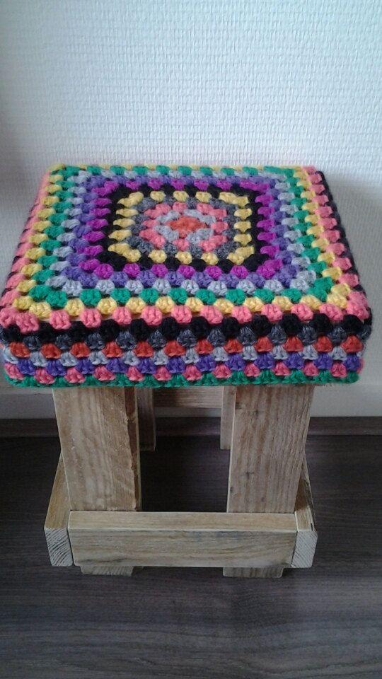 Crochet Seat Mønster Pinterest Haken Krukje Og Etsy