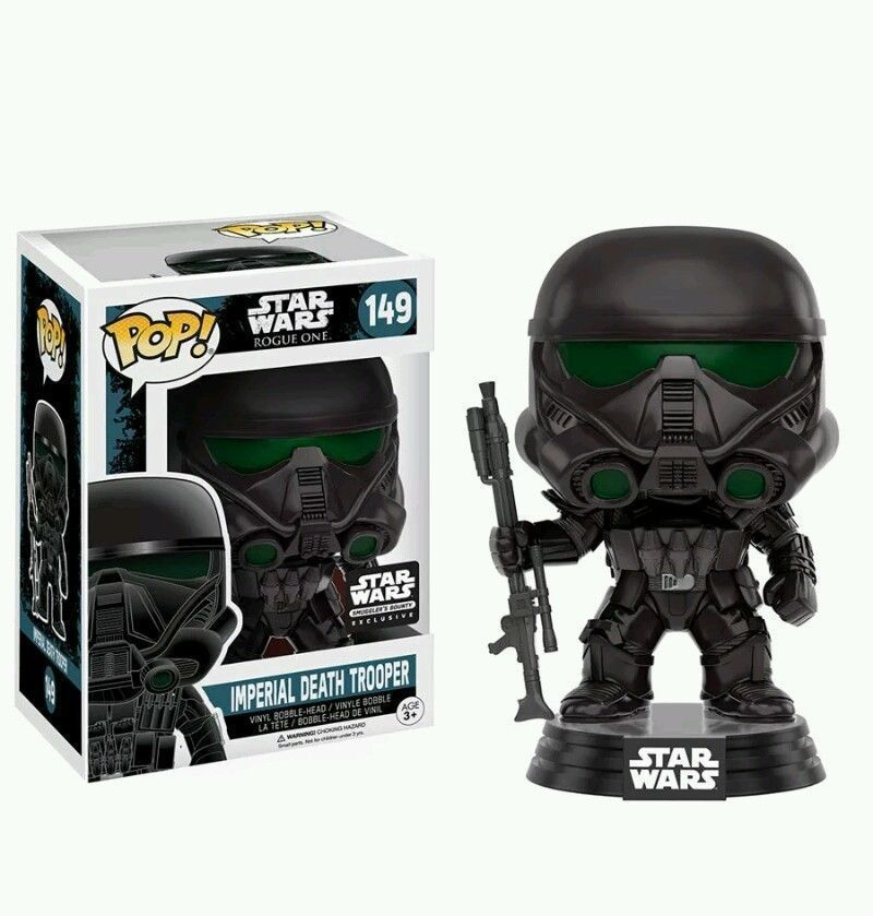 FUNKO POP STAR WARS Imperial Death Trooper SMUGGLERS BOUNTY EXCLUS 149 ROGUE ONE #FUNKO