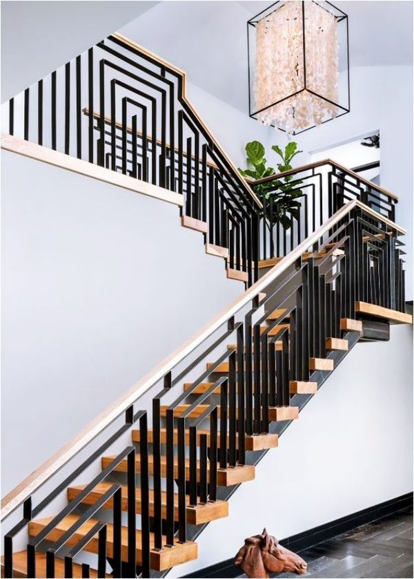 40 Perfect Staircase Railing Designs and Ideas #staircaserailings 40 Perfect Staircase Railing Designs and Ideas - HERCOTTAGE #staircaserailings