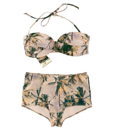 High Waisted Bikini From H M Style Pinterest Summer Bathing