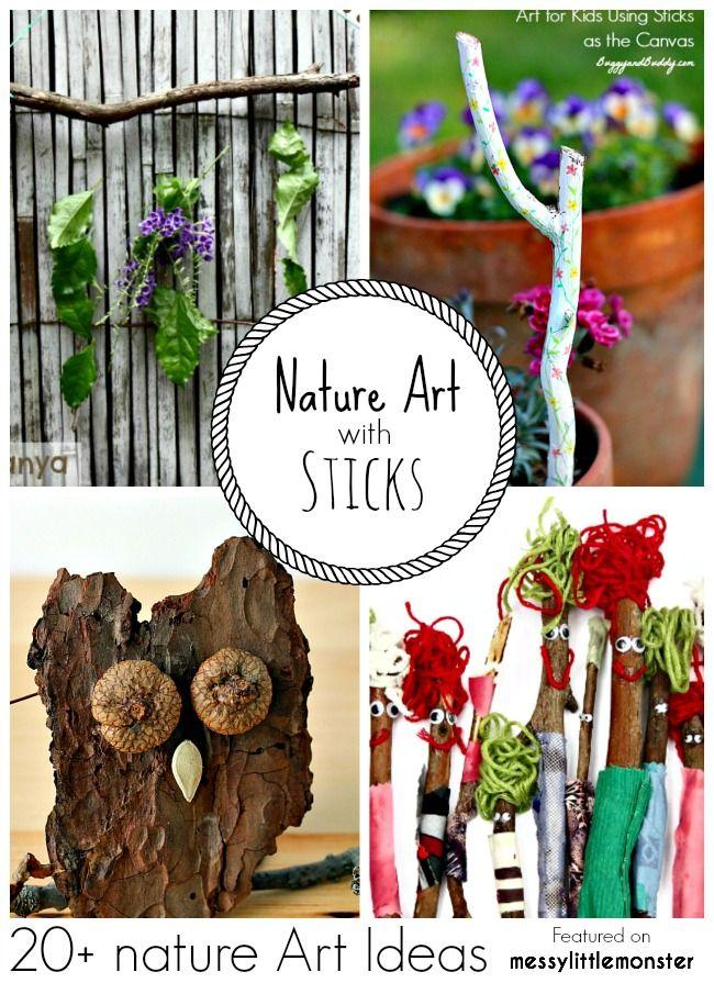 Summer Nature Art 20 Fun Ideas For Kids S4 Steam Spring