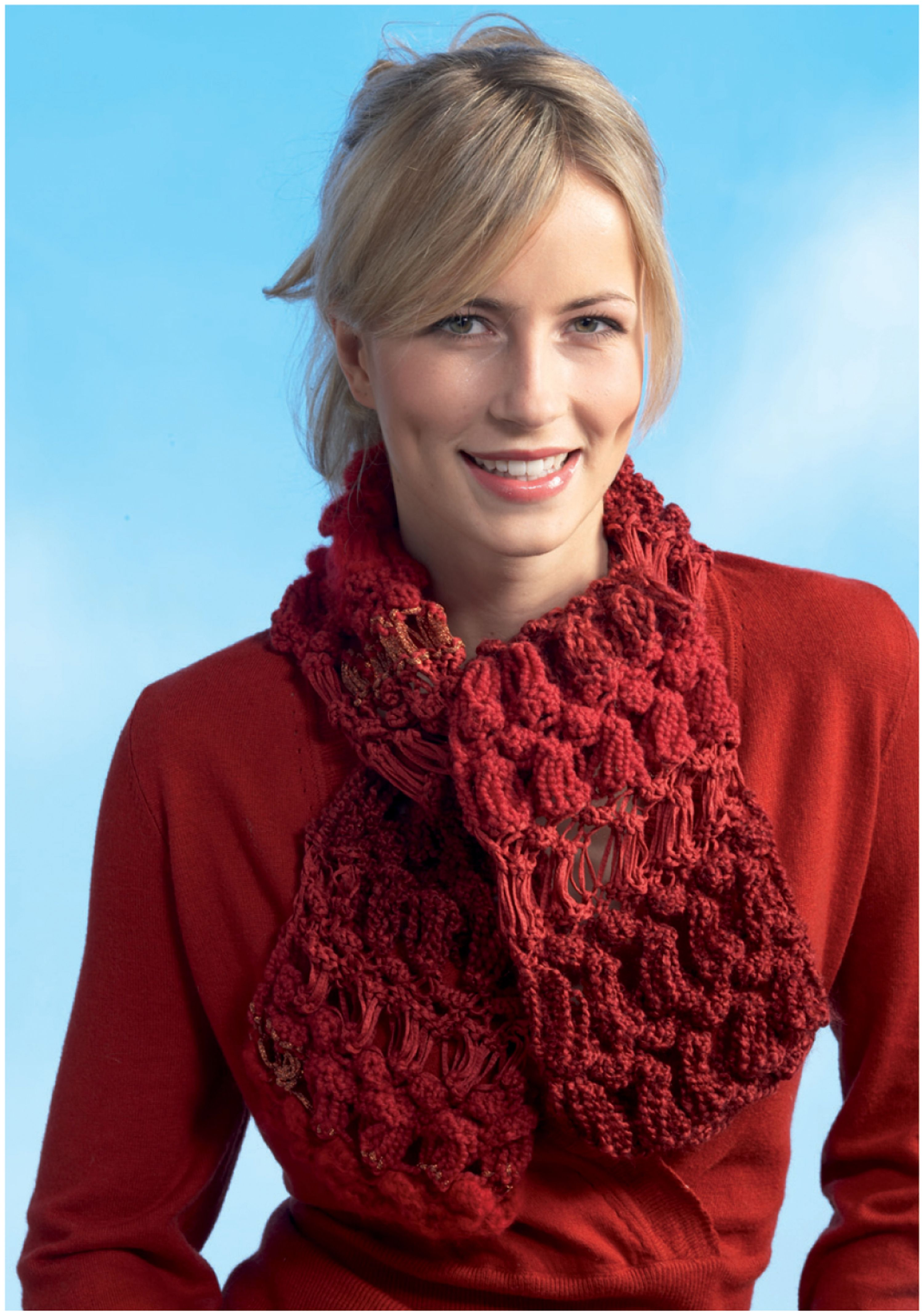 Red Heart® Boutique™ Changes™ Changing Textures Scarf #knit #pattern ...