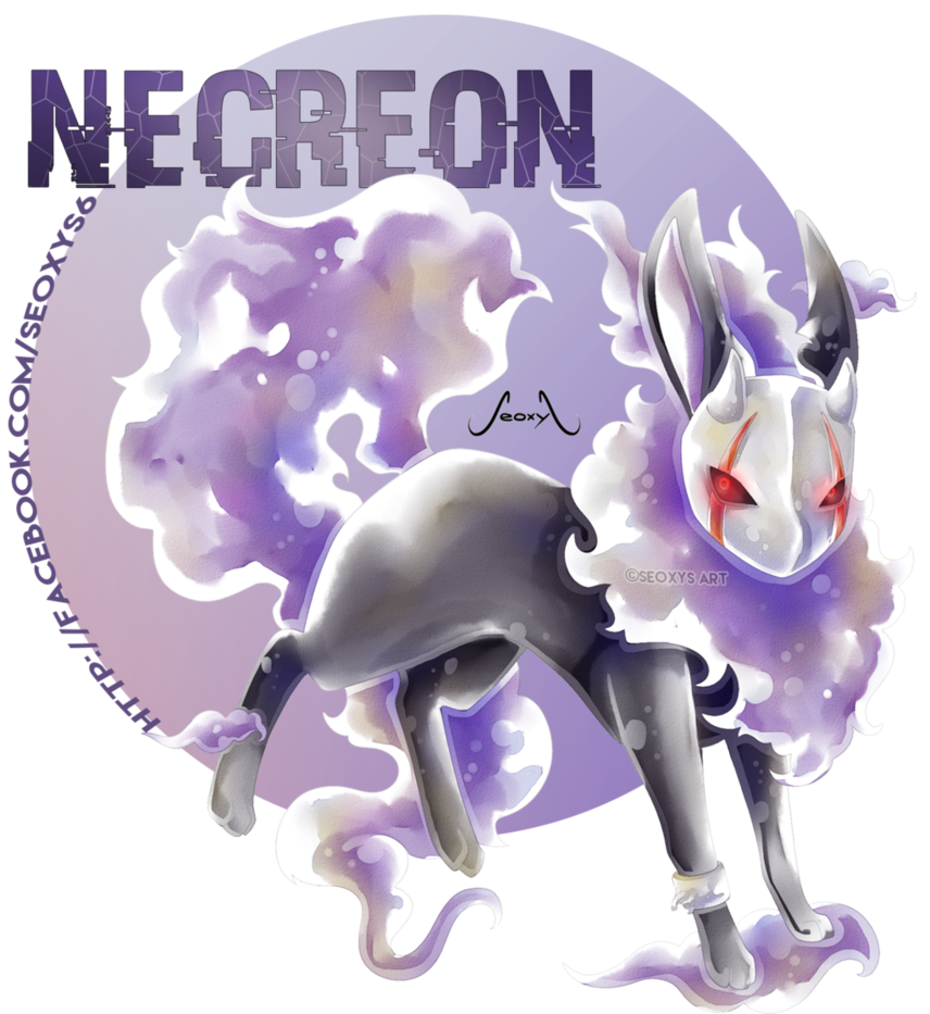 Necreon - Ghost Eeveelution by Seoxys6 on DeviantArt ...
