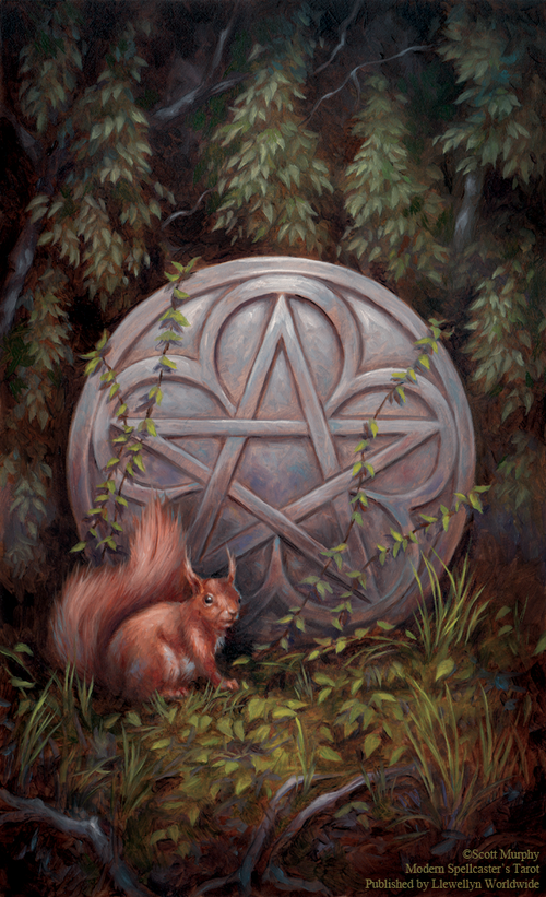 Ace of Pentacles (Spellcaster Tarot).png