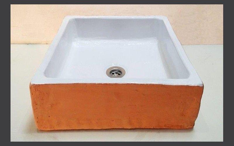 Terres Cuites De Raujolles Evier A Poser Vasque Lavabo Vasque