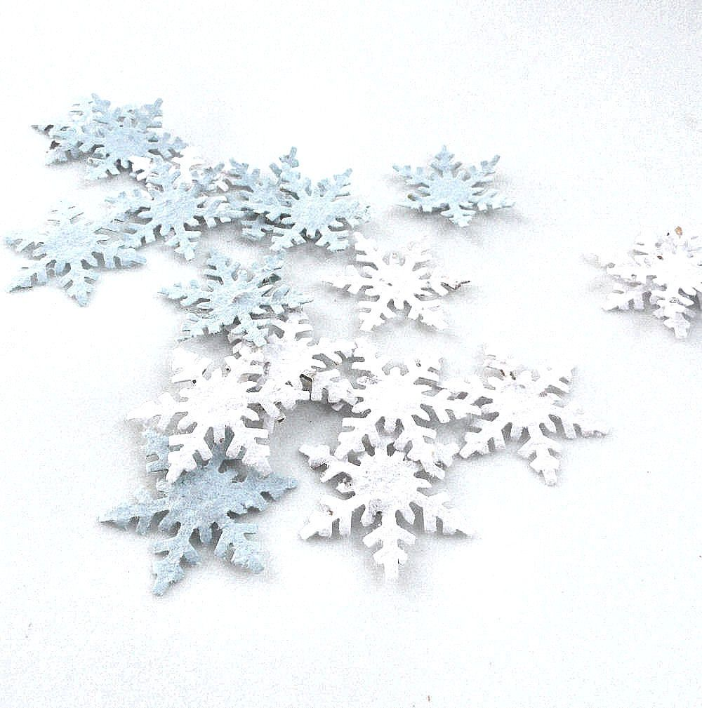 Personalized Blooming Seed Snowflake Garden Favor Set | Seed paper ...