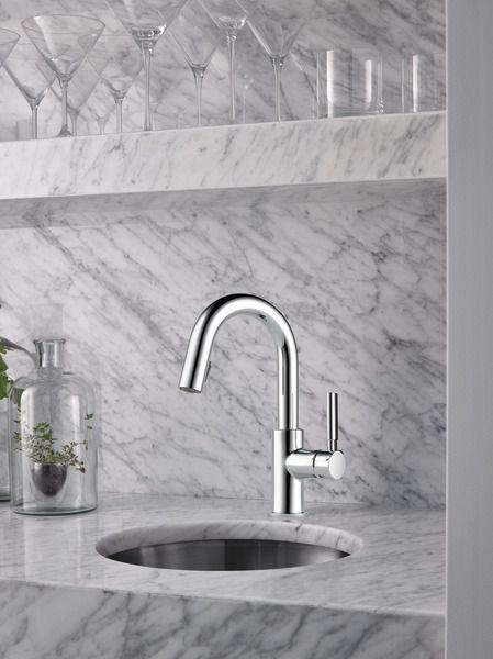 Single Handle Pull Down Prep Faucet 63920lf Pc Solna Kitchen Brizo