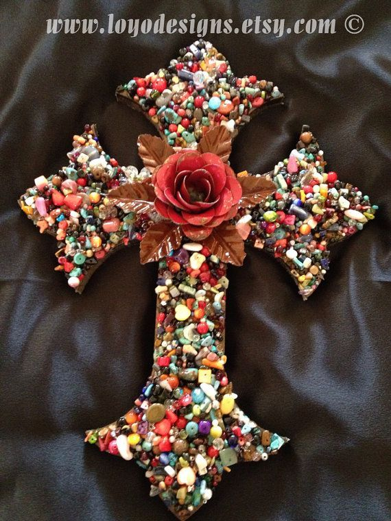 cross mosaic - Google Search | CROSSES | Pinterest ...