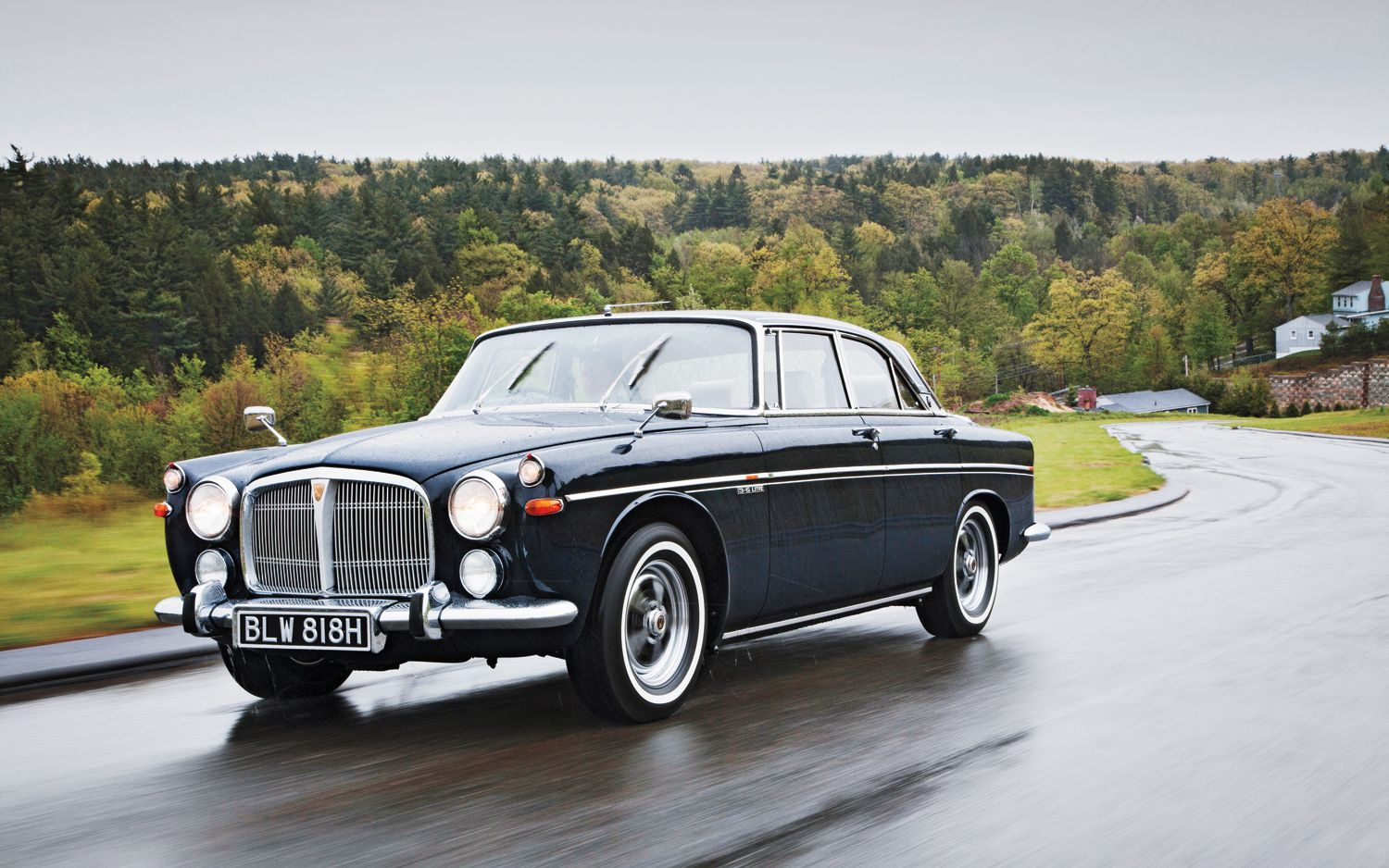 1970 Rover 3.5 Litre Coupe Classic Drive - Motor Trend Classic ...