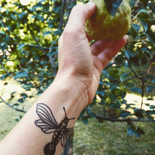 #blackink #tattoo #tattoosketch #garden #orgy #deadmoth