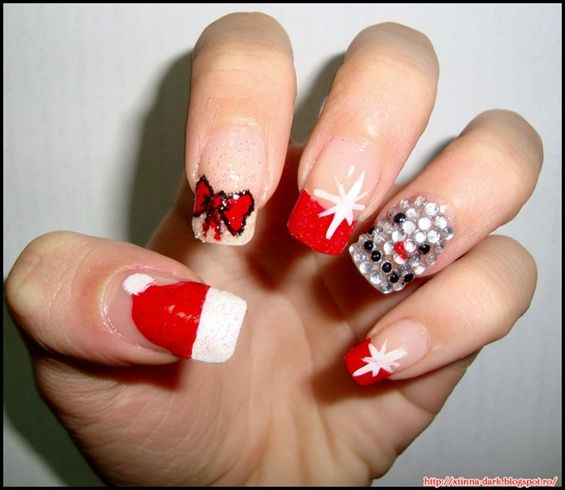 Merry Christmas Nails By Crissiesmind Nail Art Gallery