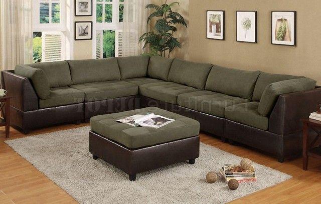 Sage Green Sectional Sofa Modular Sectional Sofa Sectional Sofa