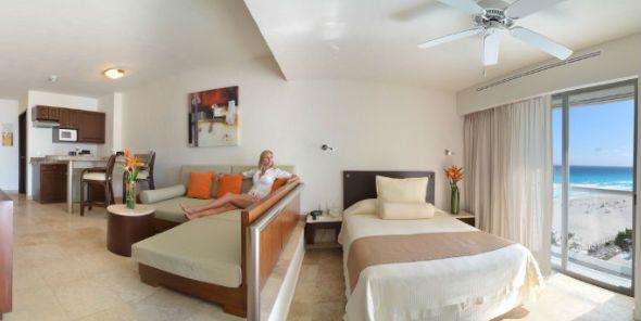Junior Suite Vaca Beach Resorts Cancun Terrace
