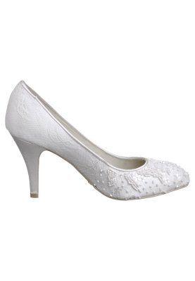 Menbur Czolenka Ivory Zalando Pl Kitten Heels Shoes Heels