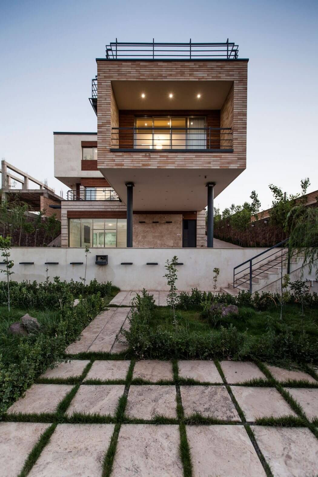 Three-storey House in Iran by White Cube Atelier | Architecture ...